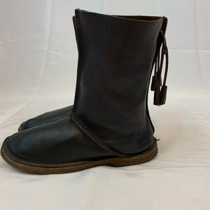 Baffin Shoes - Baffin Mid-Calf Brown Leather Boots